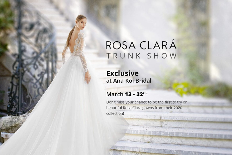 Rosa Clara Trunk Show 2020